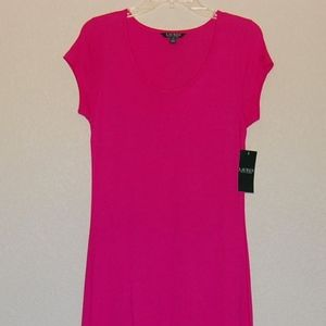New Lauren Ralph Lauren short sleeve maxi dress